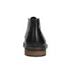 Kožená členková obuv v štýle Chukka Boots bata, čierna, 824-6677 - 17