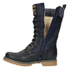 Detská zimná vysoká obuv mini-b, modrá, 491-9650 - 19