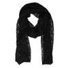 Dámsky čierny šál s jemnými trblietkami bata, čierna, 909-6211 - 13