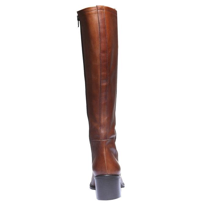 Kožené čižmy bata, hnedá, 694-3252 - 17