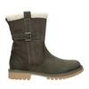 Kožená obuv s protišmykovou podošvou weinbrenner, šedá, 594-2455 - 26