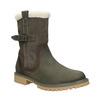 Kožená obuv s protišmykovou podošvou weinbrenner, šedá, 594-2455 - 13