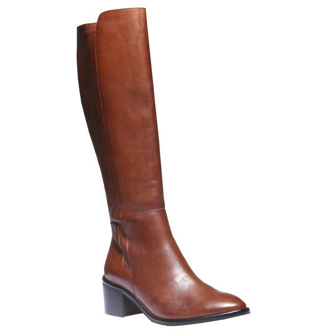 Kožené čižmy bata, hnedá, 694-3252 - 13