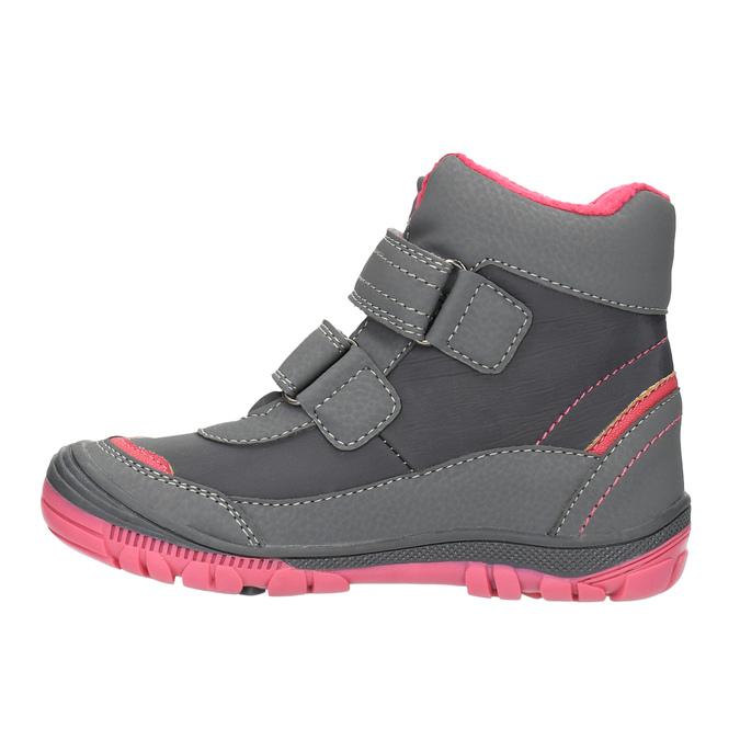 Členková detská obuv mini-b, šedá, 299-2610 - 26