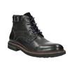 Pánska členková obuv bata, čierna, 894-6651 - 13