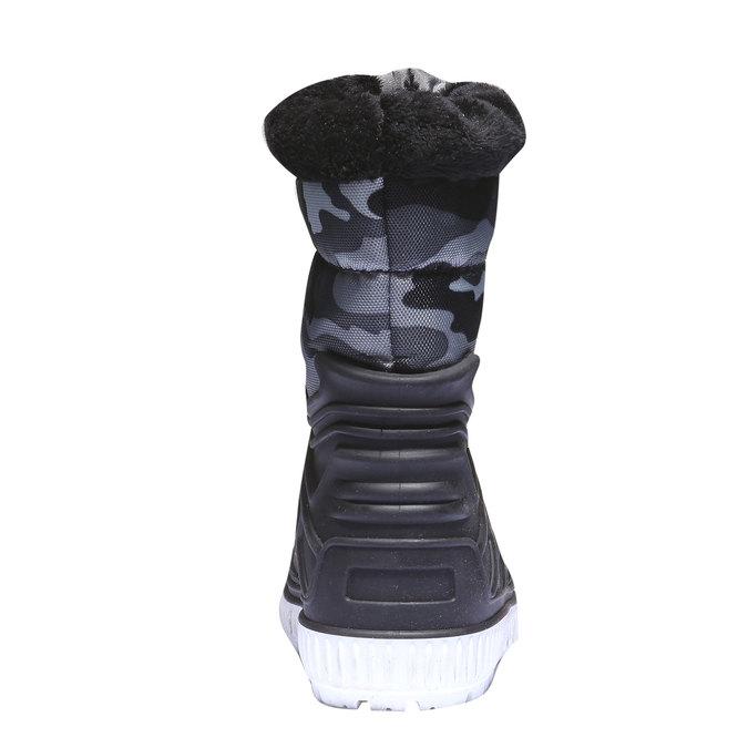 Detská obuv mini-b, čierna, 392-6100 - 17