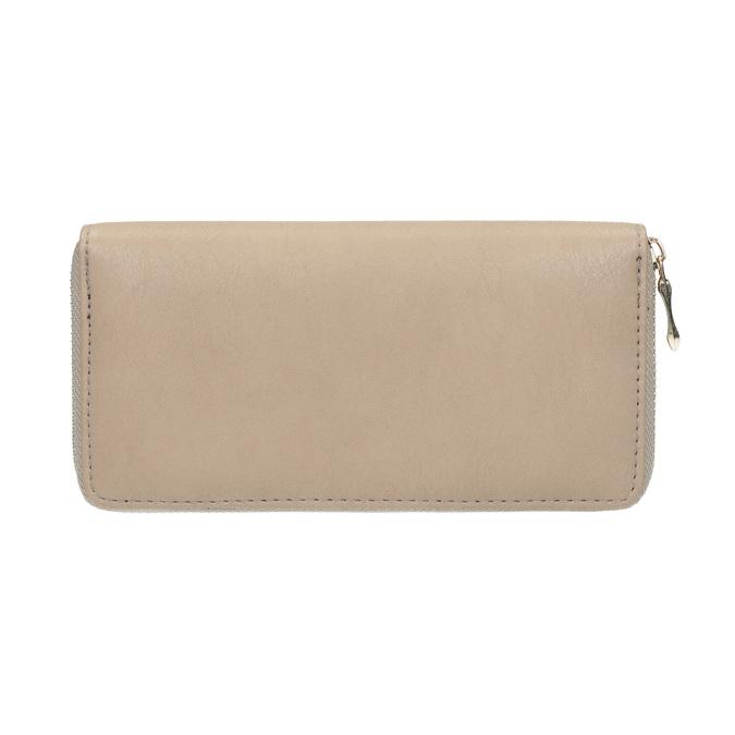 Elegantná peňaženka s ozdobou bata, béžová, 941-8150 - 19
