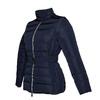 Dámska bunda so sponou bata, modrá, 979-9640 - 16