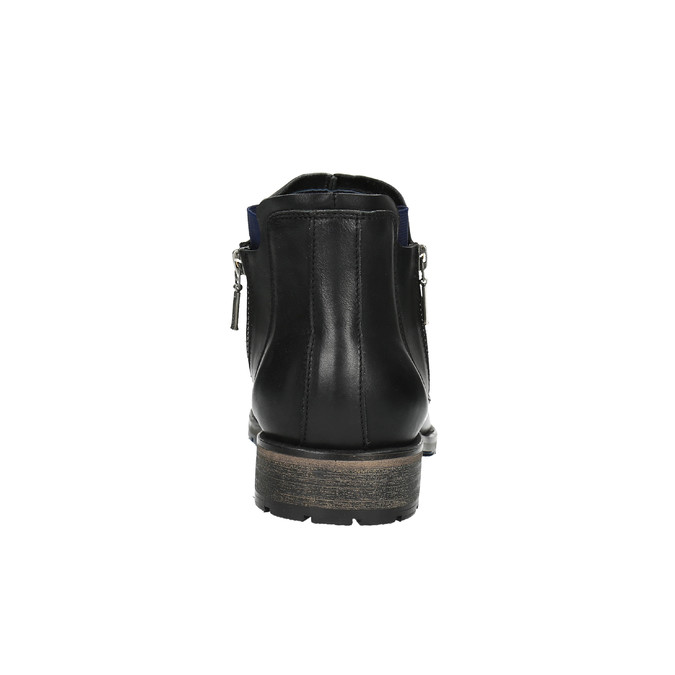 Pánska obuv vo výške ku členkom bata, čierna, 894-6656 - 17