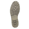 Kožená obuv k členkom bata, šedá, 894-2643 - 19