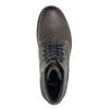 Kožená obuv k členkom bata, šedá, 894-2643 - 26