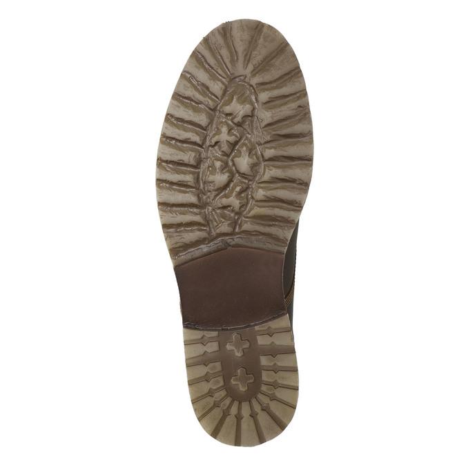 Pánska zimná obuv bata, hnedá, 894-4644 - 19