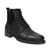 Kožená pánska obuv bata, čierna, 896-6642 - 13