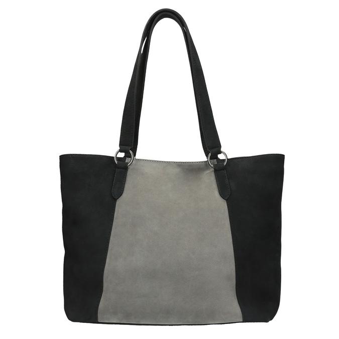Dámská kožená kabelka bata, čierna, 966-6200 - 19