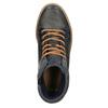 Kožené členkové tenisky so zateplením bata, šedá, 896-2651 - 19