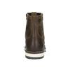 Kožená členková obuv bata, hnedá, 896-4641 - 17