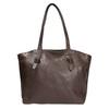 Dámska kožená kabelka hnedá bata, hnedá, 964-4205 - 19