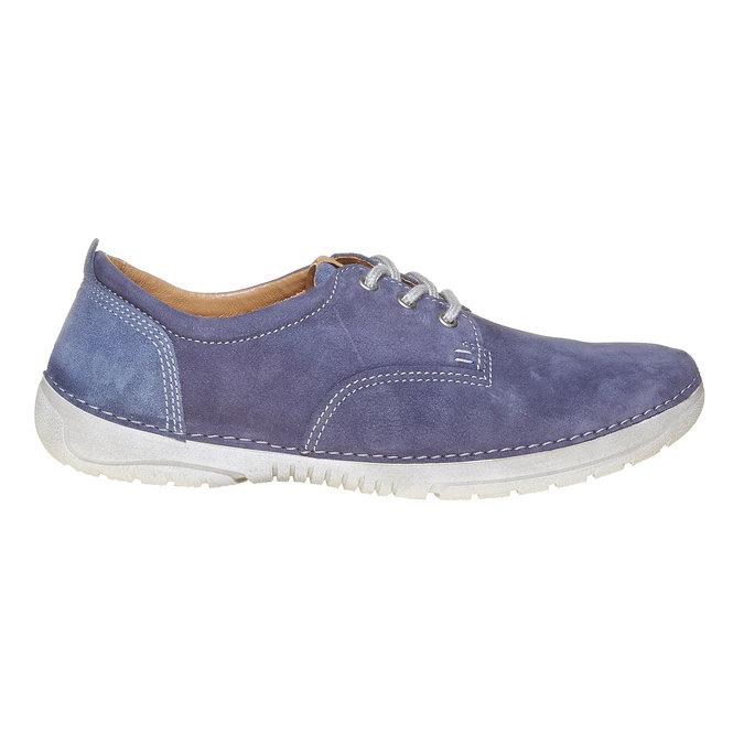 Pánska kožená obuv weinbrenner, modrá, 846-9657 - 15