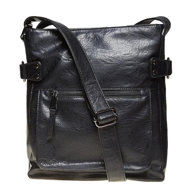 Pánska Crossbody taška bata, čierna, 961-6266 - 26
