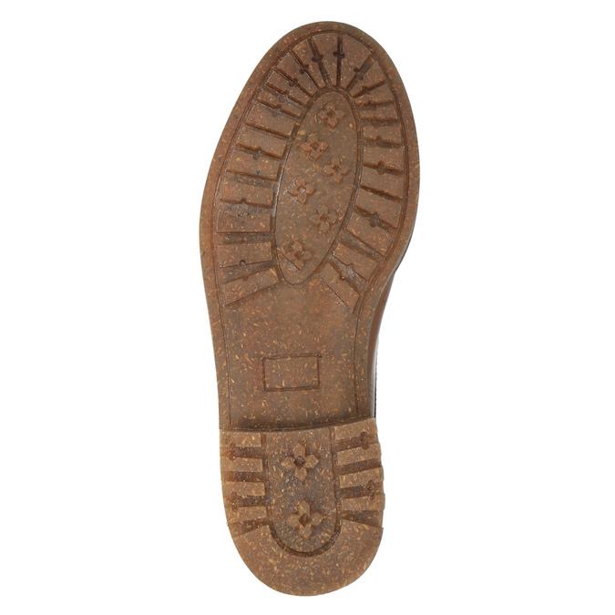 Členková obuv v Ombré štýle bata, hnedá, 896-3647 - 26