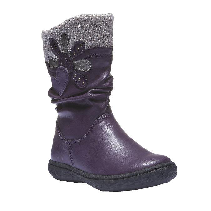 Detská obuv mini-b, fialová, 291-9119 - 13