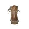 Kožená členková obuv so zateplením bata, hnedá, 594-4610 - 17