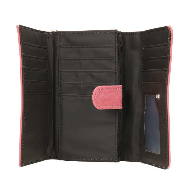 Ružová dámska peňaženka bata, ružová, 941-1153 - 15