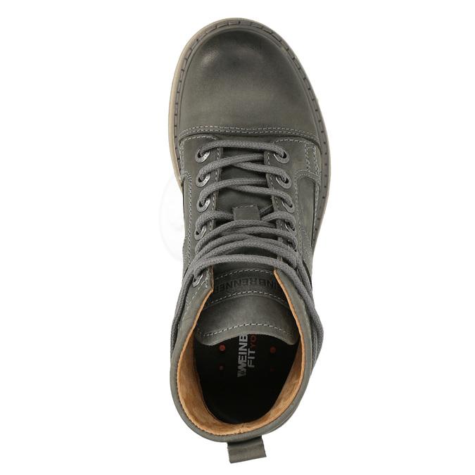 Dámska členková obuv weinbrenner, šedá, 594-2409 - 19