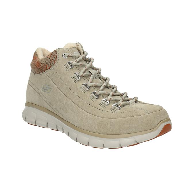 Dámska zimná obuv športová skechers, béžová, 503-3357 - 13