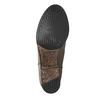 Kožené čižmy vo Western štýle bata, hnedá, 696-2608 - 26