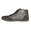 Dámske kožené členkové tenisky bata, hnedá, 596-4613 - 26