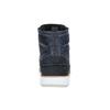Kožená členková obuv na ležérnej podrážke bata, modrá, 894-2660 - 17