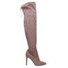 Dámske čižmy nad kolena bata, hnedá, 799-3600 - 15