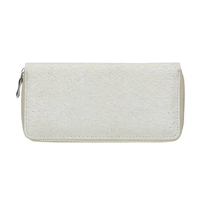 Elegantná dámska peňaženka bata, strieborná, 941-1151 - 26