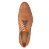 Celokožené pánske poltopánky hnedé bata, hnedá, 826-3776 - 19