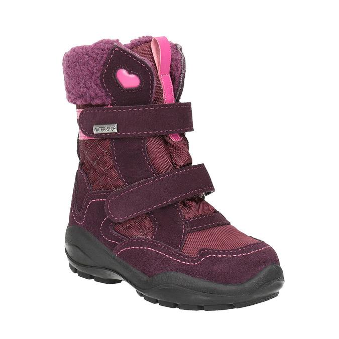 Detská zimná obuv weinbrenner, červená, 299-5611 - 13