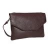 Dámska kožená Crossbody kabelka bata, fialová, 964-5210 - 13
