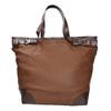 Kabelka v štýle Tote Bag bata, hnedá, 961-3206 - 26