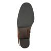 Dámske kožené čižmy bata, hnedá, 796-4637 - 26