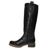 Kožené čižmy s masivnou podrážkou bata, čierna, 594-6613 - 19