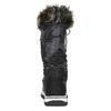 Dámske snehule s kožúškom bata, čierna, 599-6609 - 17