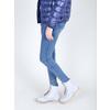 Kožená členková obuv s priehladnou podrážkou weinbrenner, modrá, 596-9639 - 18