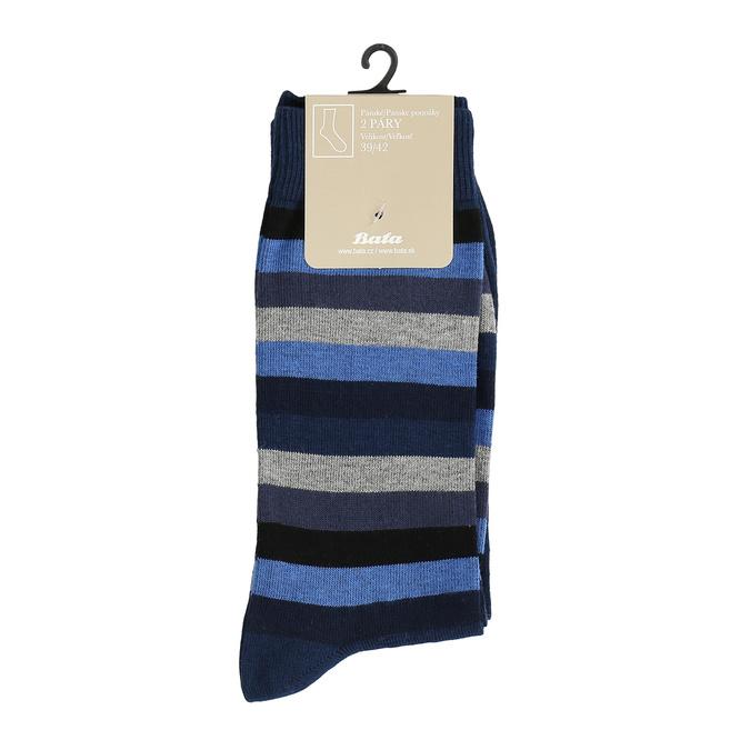 Pánske ponožky 2 páry bata, modrá, 919-9411 - 13