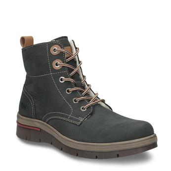 Kožená dámska zimná obuv weinbrenner, šedá, 596-2636 - 13
