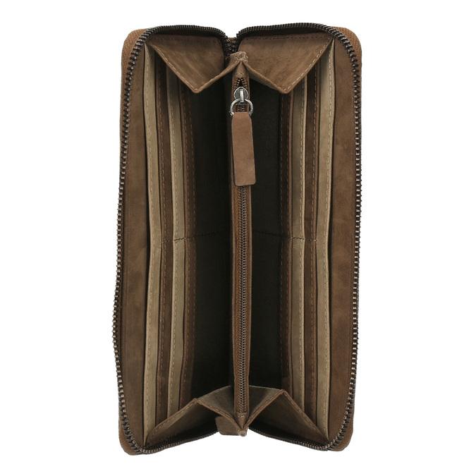 Dámska kožená peňaženka bata, hnedá, 946-4100 - 15