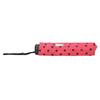 Skladací dáždnik s bodkami bata, ružová, 909-5601 - 16