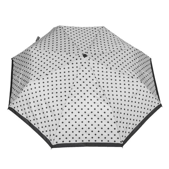 Skladací dáždnik s bodkami bata, biela, 909-8601 - 26