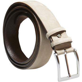 Pánsky kožený opasok bata, béžová, 954-8120 - 13