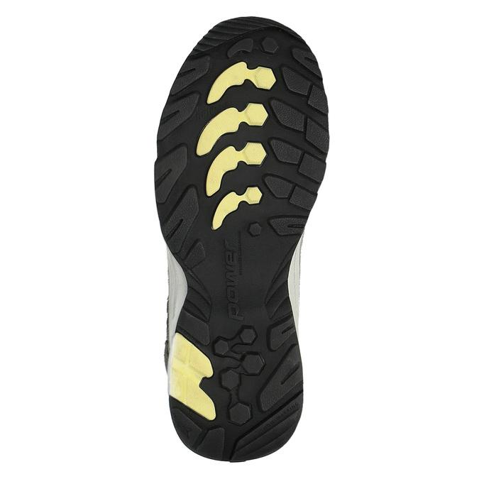 Dámska kožená obuv v Outdoor štýle power, šedá, 503-2829 - 26