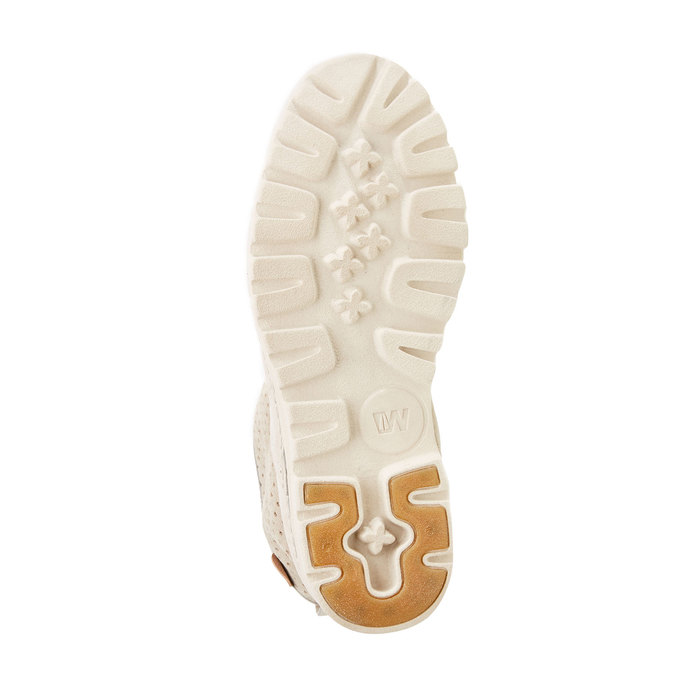 Kožené členkové topánky weinbrenner, biela, 596-1121 - 26